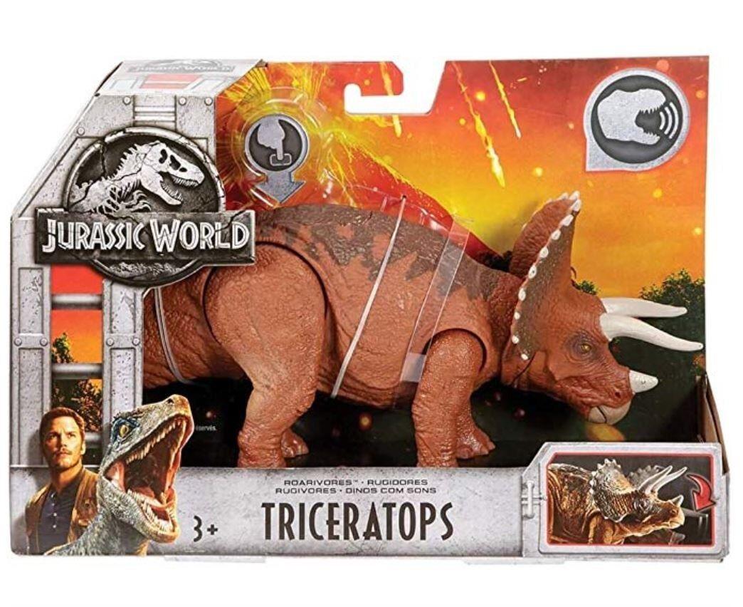 Jurassic World Roarivores Action Figure Figure Figure Triceratops Mattel 4ab7f0