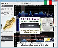 RTL2832u R820T2 RICEVITORE SCANNER HAM RADIO SDR 14-1900MHZ TCXO 0.5PPM+CD+SMA