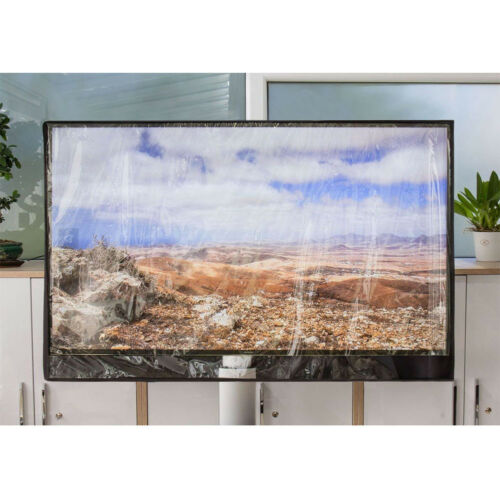 For Outdoor TV Cover 600D Flat Screen Waterproof Dustproof Protective Front Flap