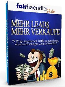 MEHR-LEADS-MEHR-VERKAUFE-77-Wege-Traffic-zu-generieren-ohne-Geld-PLR-LIZENZ