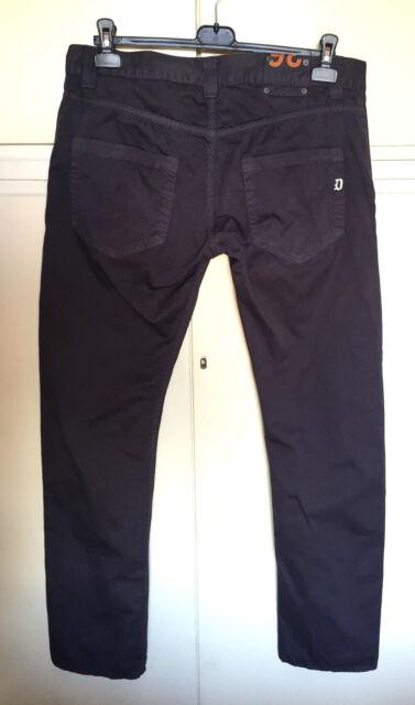 Pantaloni uomo DONDUP 5 tasche grigi jeans