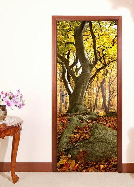 3D Stamm Tür Wandmalerei Wandaufkleber Aufkleber AJ WALLPAPER DE Kyra | Sale Online  | Schön und charmant  | Lebhaft