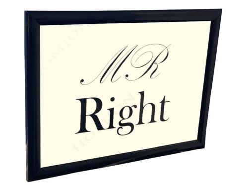 His /& Hers Mr Right /& Mrs Always Right Padded Lap Trays Serving Present New