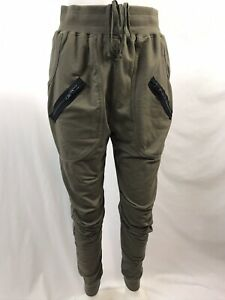 Urban-Groove-Olive-Green-Hip-Hop-Dance-Pants-Size-Women-039-s-Small-Adult