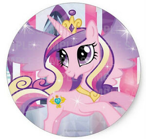 Image Is Loading My Little Pony Princess Cadence Round Edible Birthday