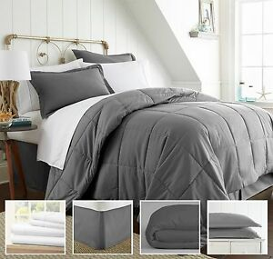 Hotel Quality, Entire 8 Piece Bed in a Bag by ienjoy Home