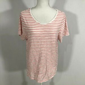 cbda50eec488 Old Navy Everywear Women Short Sleeve Tee Top Size XL Pink White ...