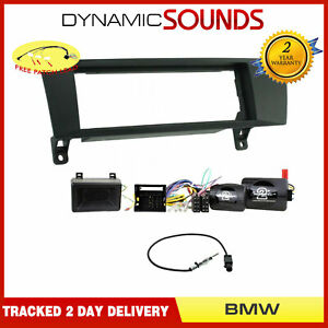 Car Stereo Fascia Steering Parking Chime Retention Kit for BMW 1 3 Series