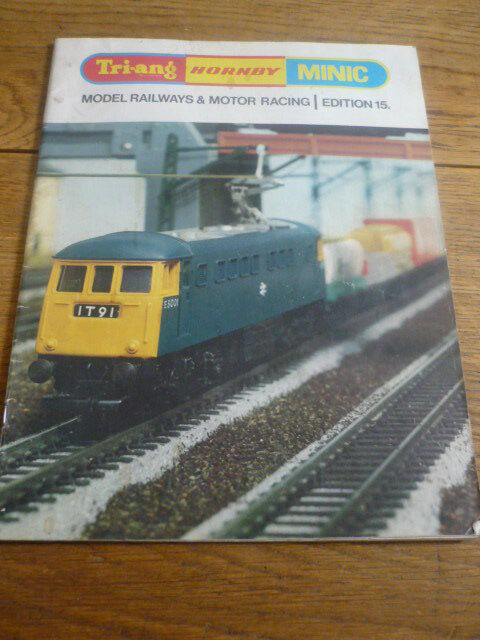 TRIANG HORNBY MINIC RAIL AND MOTOR RACE BROCHURE 1969