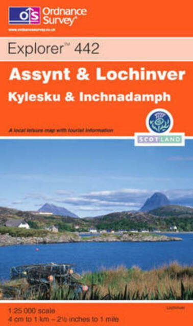 Explorer Maps: Assynt and Lochinver by Ordnance Survey (Book) Quality guaranteed