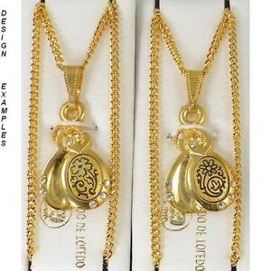 Damascene-Gold-Music-Instrument-Castanet-Pendant-Necklace-by-Midas-Toledo-Spain