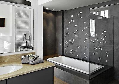 92 Soap Bubbles bathroom wall sticker decal quote art vinyl deco water proof