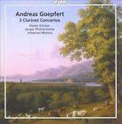 Andreas Goepfert: 3 Clarinet Concertos (CD, May-2010, CPO)