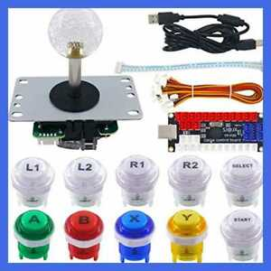 SJ-JX-Arcade-LED-DIY-Kit-USB-Encoder-Board-Controller-Joystick-Button-For-MAME-J