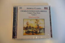 CHARLES TOMLINSON GRIFFES CD NEUF COMPLETE PIANO WORKS VOL. 1 MICHAEL LEWIN.