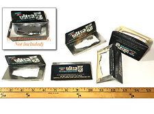 5pc 1977 Aurora AFX SpeedSteer Ultra5 Clamshell Display Box CARDBOARD INSERTS A+