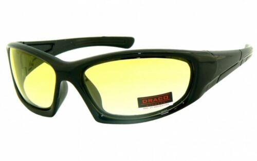 Brille Nachtsichtbrille Radbrille Nachtbrille gelbe Gläser Wechselgläser Sonnenb