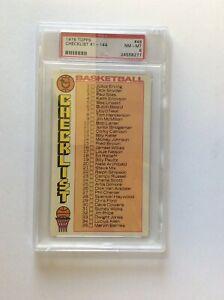1976-77-TOPPS-NBA-BASKETBALL-CARD-48-CHECKLIST-PSA-8-NM-MT