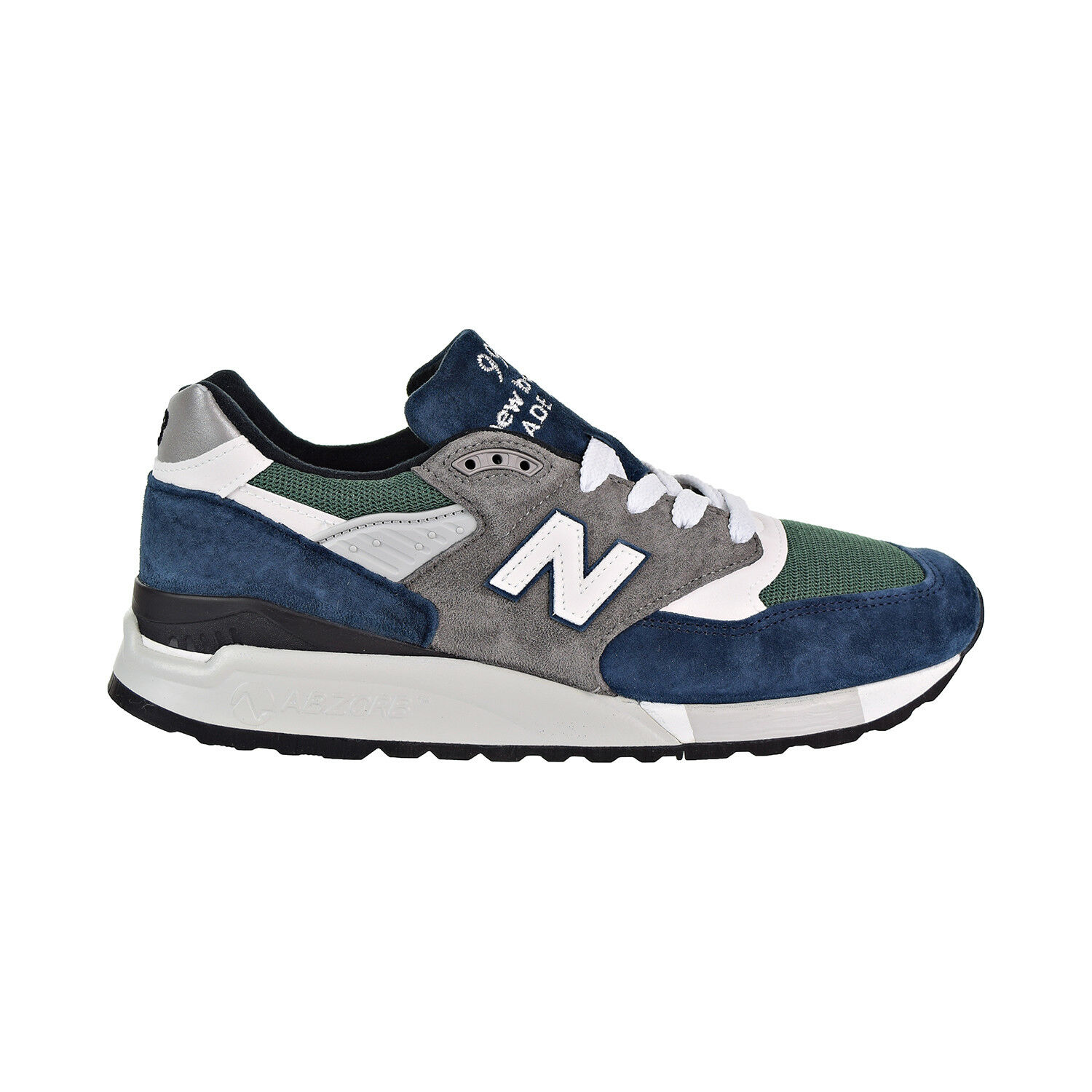 New Balance 998 Made In USA Men's shoes Navy Green Grey m998-nl