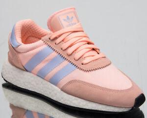 Detalles de Adidas Originals I-5923 Mujer Nuevo Claro Naranja Lifestyle  Zapatillas CG6025