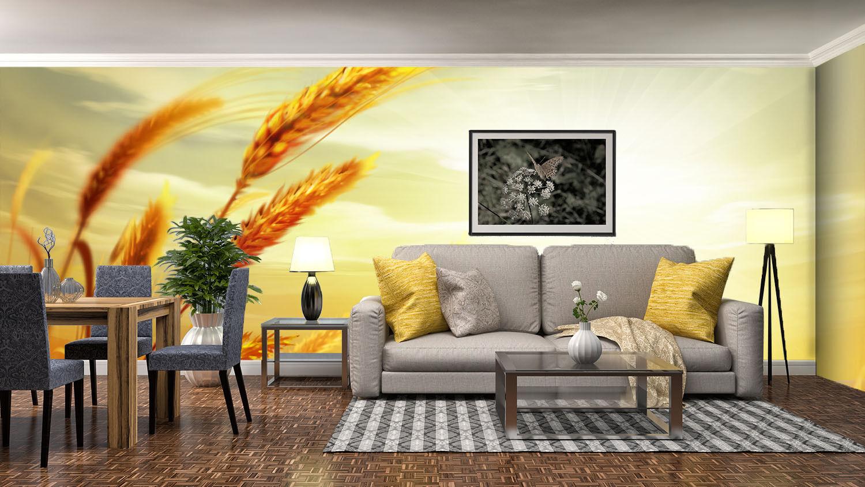 3D Sunlight Wheats 87 Wall Paper Murals Wall Print Wall Wallpaper Mural AU Kyra