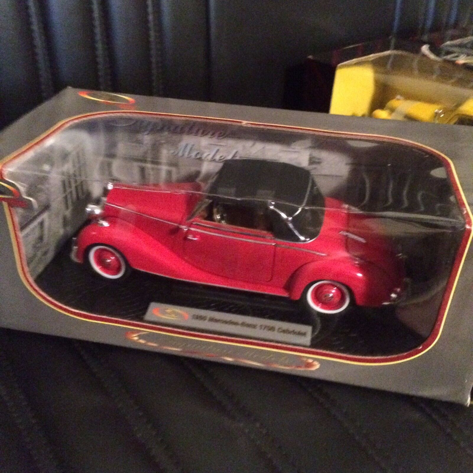 tienda en linea Signature Models Models Models 18123 1950 Mercedes-Benz 170S Cabrio Rojo 1 18 Escala  para barato