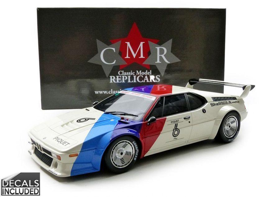 Bmw M1 Procar  6 Winner Procar Series 1980 N. Piquet 1 12 Model CMR