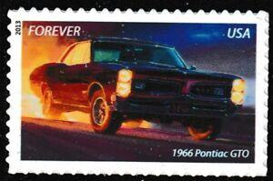 US-4744-Muscle-Cars-1966-Pontiac-GTO-forever-single-MNH-2013
