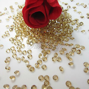 5000 Wedding Scatter Crystals 45mm Acrylic Table Diamonds Confetti Vase Filler