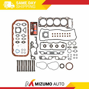 Full Gasket Set Head Bolts Fit 94-97 Toyota Previa Supercharged 2TZFE  2TZFZE