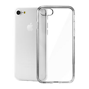 pick up d2ee2 833dc iPhone 6 8 7 Plus X Case Soft Silicone Clear Transparent Slim Gel ...