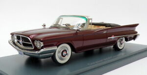 NEO-auto-modello-IN-SCALA-1-43-NEO44683-CHRYSLER-300-F-Convertible-Bordeaux