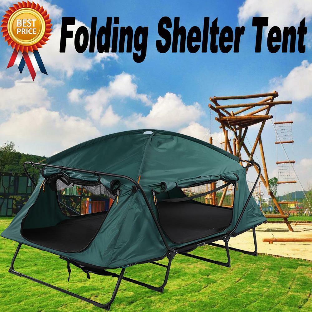 1 Person Erhöhte Faltschachtel Zelte Kinderbett Wasserdicht Wandern im Freien USA