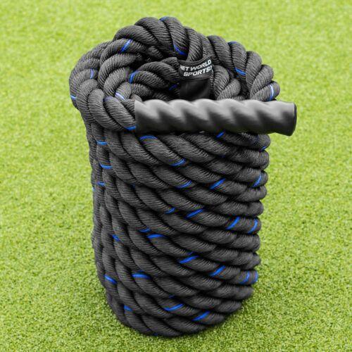 Net World Sports Corde Ondulatoire 9mCorde de Bataille Pour Musculation