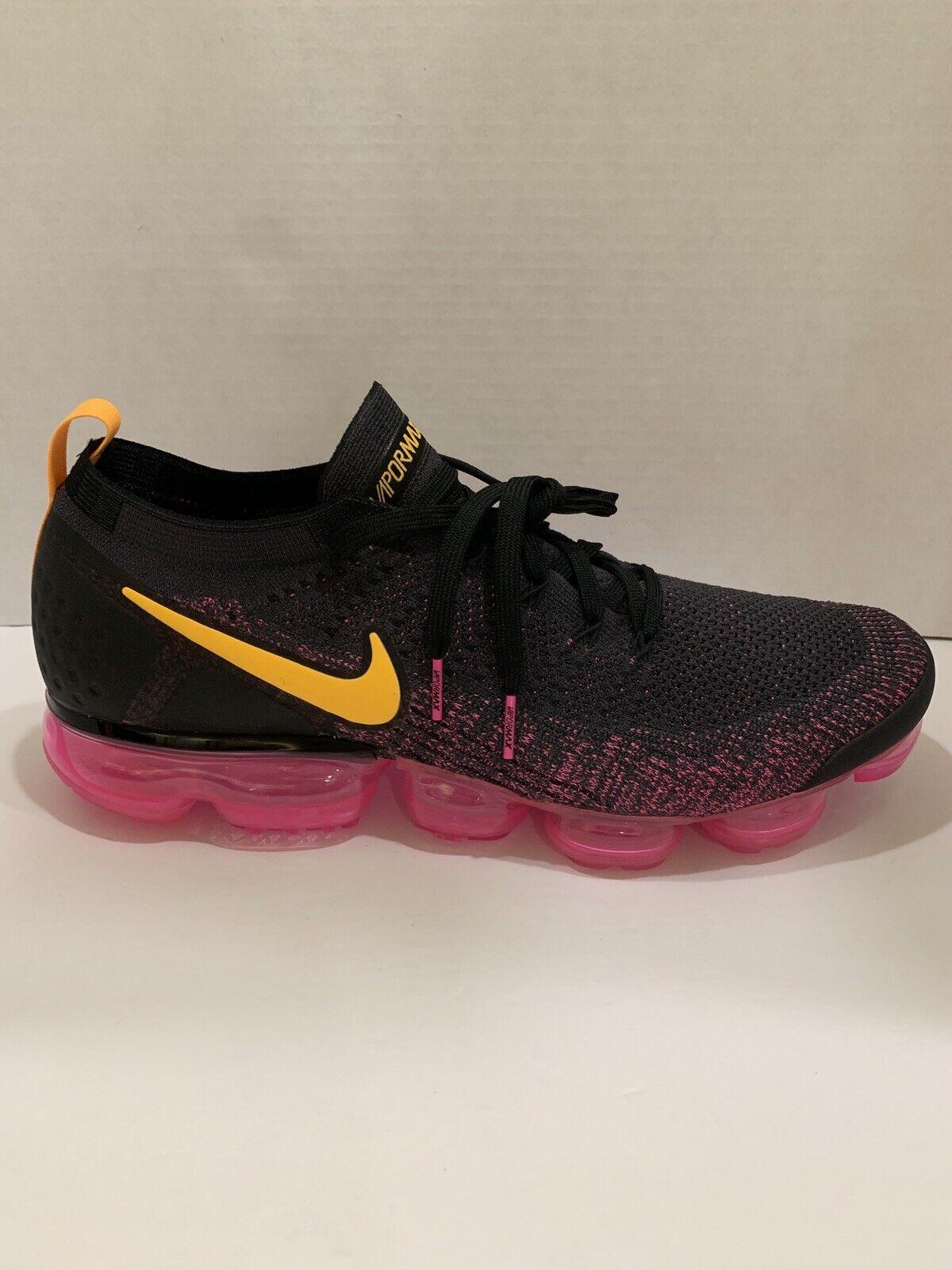 297e5b24935 Nike Air Vapormax Flyknit 2 II Pink Blast orange Men Running shoes  942842-008
