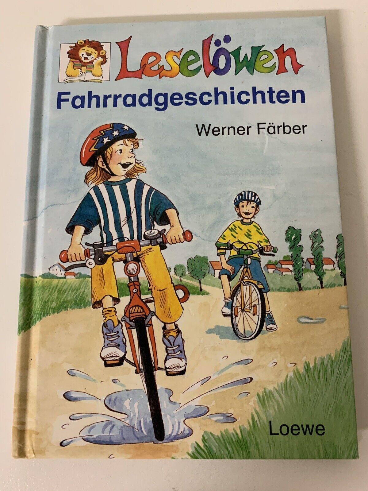 Leselöwen Fahrradgeschichten von Werner Färber - Werner Färber
