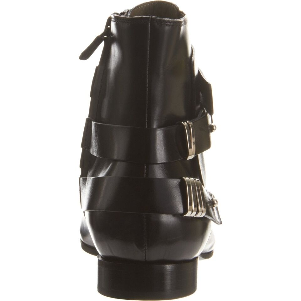 COSTUME NATIONAL Ankle schwarz LEATHER pointy barney's Stiefel Stiefel Stiefel 38 7.5 SOLD OUT 621843