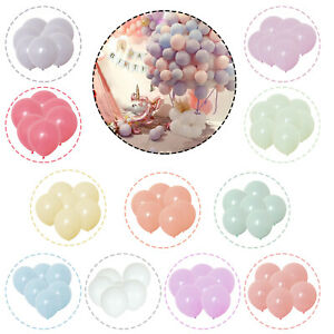 100pcs-Macaron-Candy-Colore-Ballons-Pastel-les-ballons-10-034-Fete-Decoration