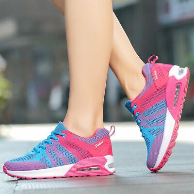 Women's Sport Air Cushion Running Shoes Breathable Mesh Tennis Walking Sneakers    eBay