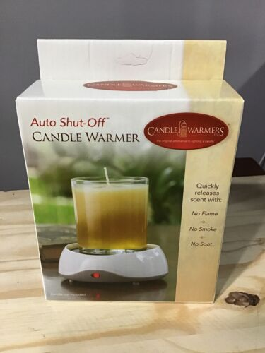 Auto Shut Off Electric Candle Warmer Melter Fits Most Candles up to 10oz