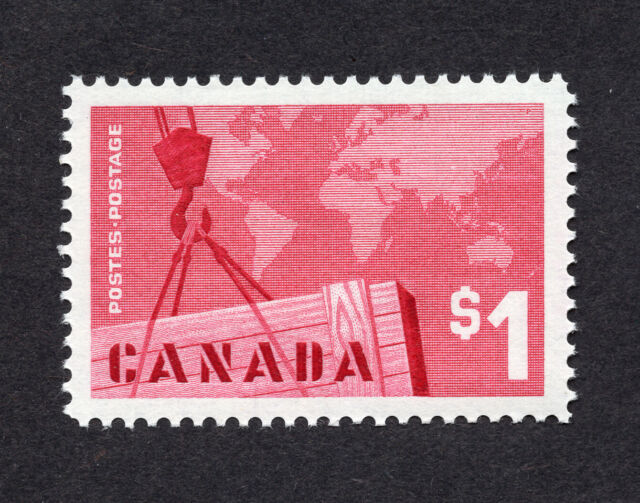 Canada #411 $1.00 Canadian Exports Issue MNH