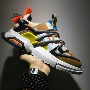 Men-039-s-Retro-Sports-Sneakers-Fashion-Running-Shoes-Breathable-Casual-Rubber-Sole