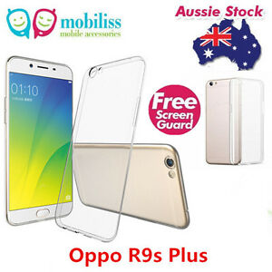 best authentic 9ad5e fc8eb Details about TPU Gel Jelly Case Cover for Oppo R9s Plus Clear + SP
