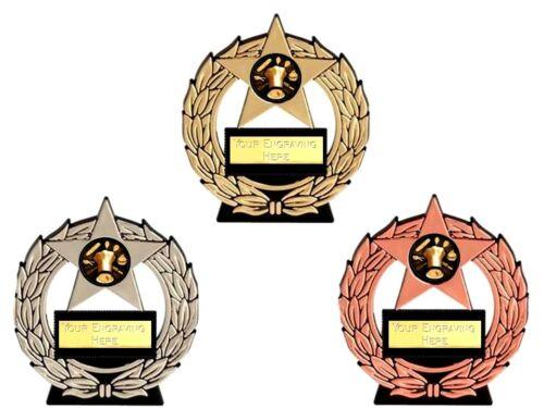 BAKING MEGA STAR trophy free engraving gold silver bronze trophies BAKE OFF
