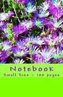 Notebook - Small Size - 100 pages: Original Design Nature 2 by Victoria Joly