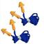 5x-Pair-Reusable-Earplugs-Hearing-Protection-Corded-Soft-Silicone-Ear-Plug-plugs miniature 3