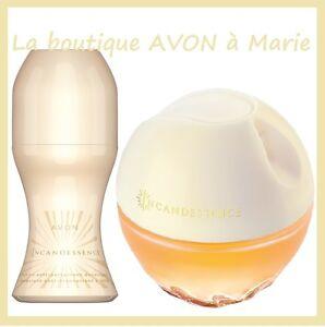 Lot Eau De Parfum Incandessence Déo à Bille De Chez Avon Neuf Ebay