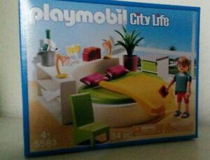Details zu Playmobil Schlafinsel 5583 Neu & OVP Moderne Luxusvilla Haus  Villa Möbel Bett