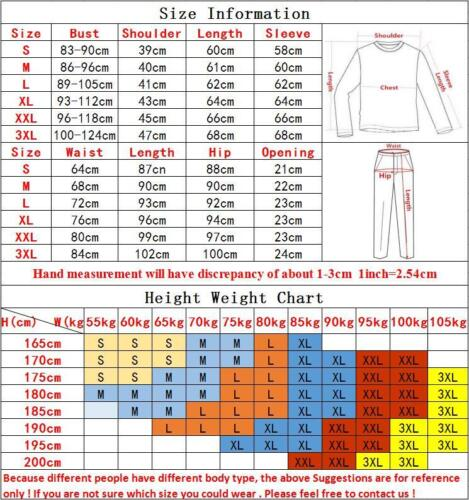 Men Compression Base Layer Sets Workout Running Outfit Tights Dri-fit Breathable