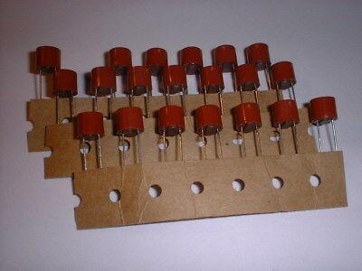 Gehorsam 20x 5a / 300v Sicherung Sub-miniatur Träge Weder Zu Hart Noch Zu Weich